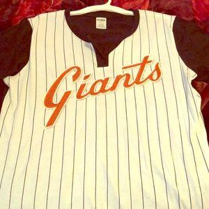 San Francisco Giants PINK Victoria Secret T-shirt